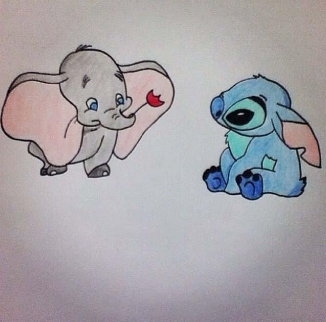 Hình vẽ hoạt hình dễ thương