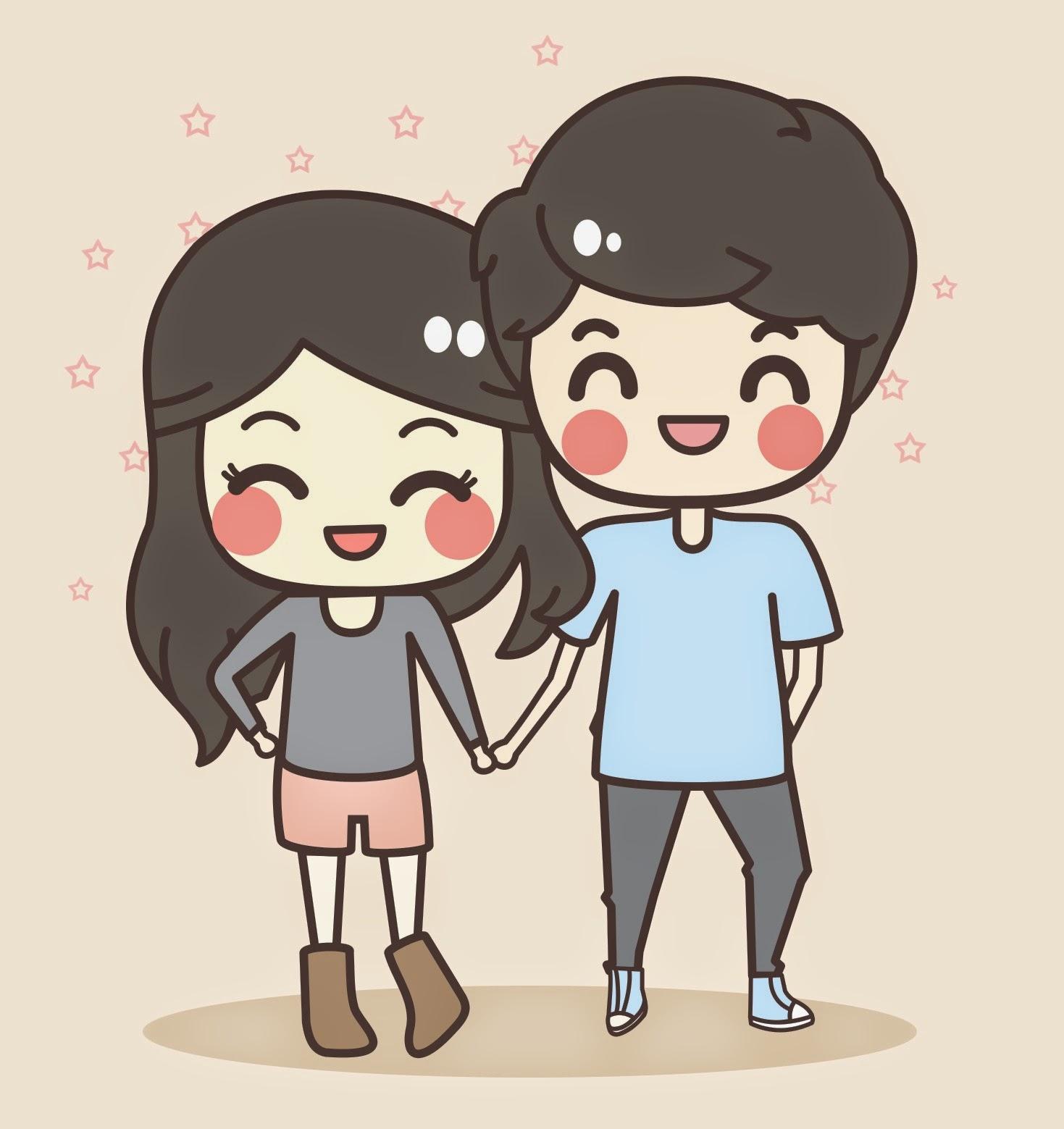 Những hình vẽ dễ thương về tình yêu