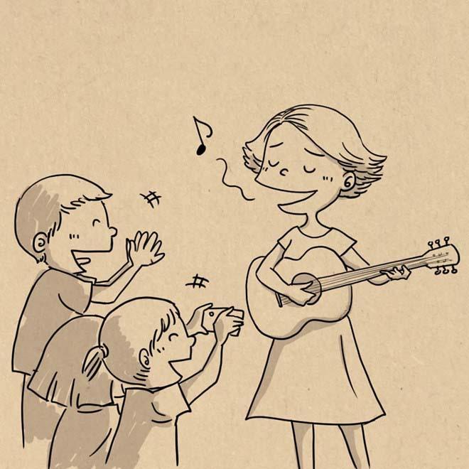Những hình vẽ dễ thương