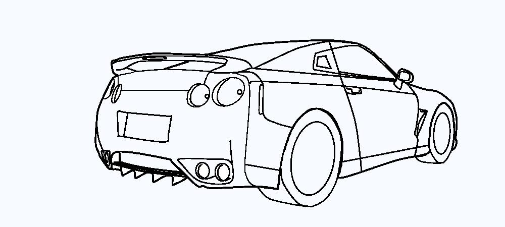 Tô màu xe ô tô