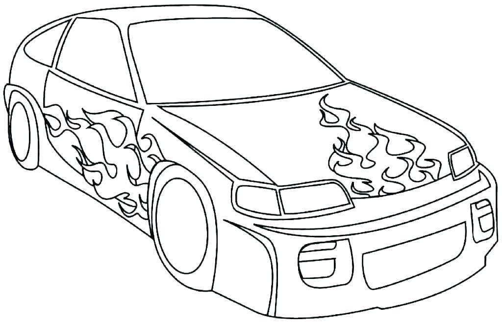 Tranh ô tô đẹp nhất cho bé tập tô