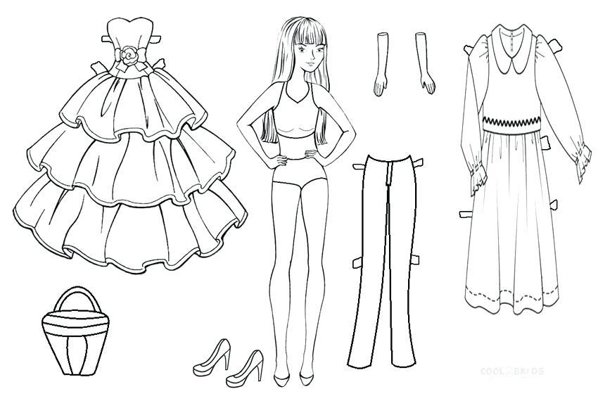 Tranh tập tô màu công chúa Barbie đẹp