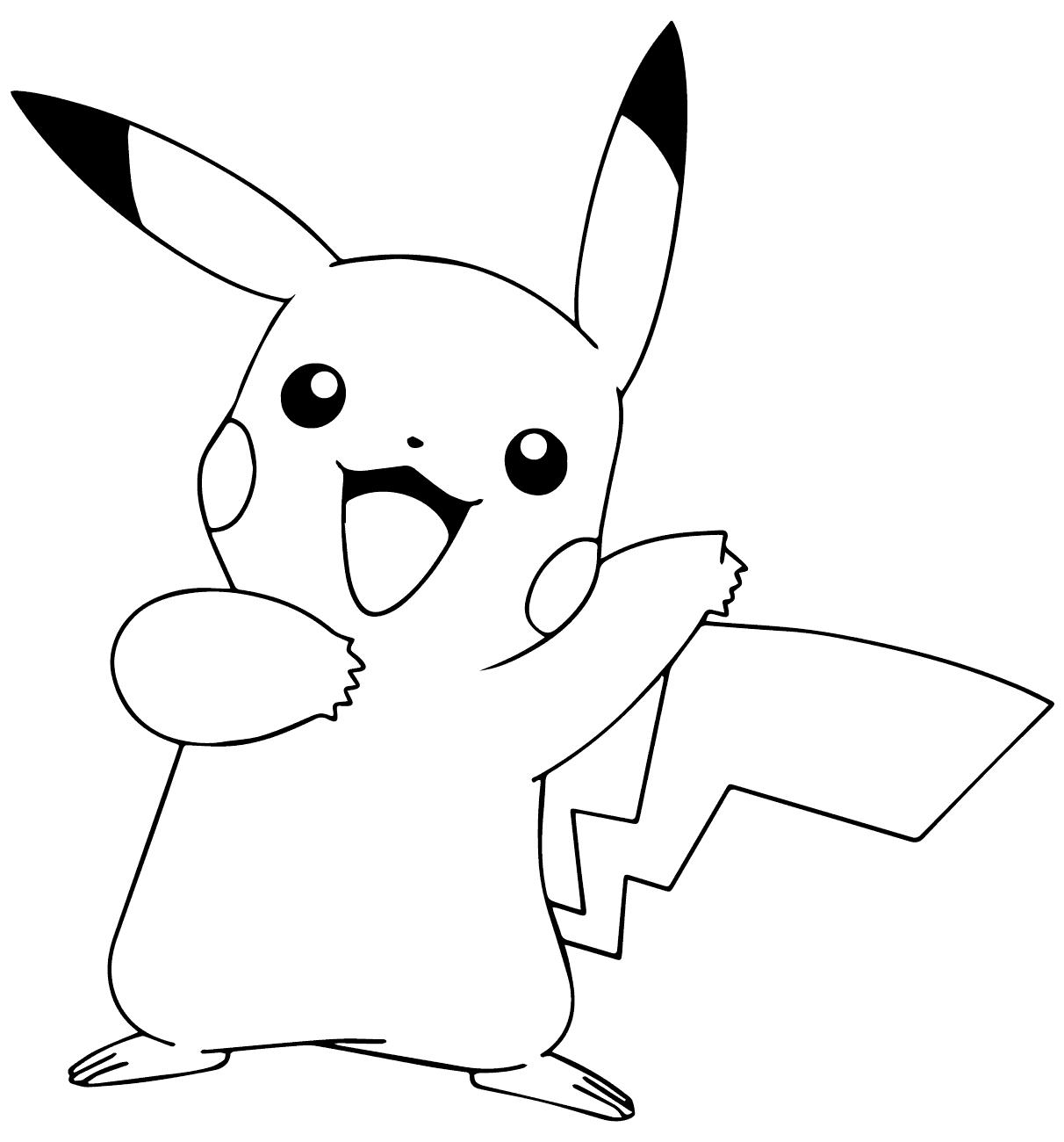 Bé tô màu hình pokemon