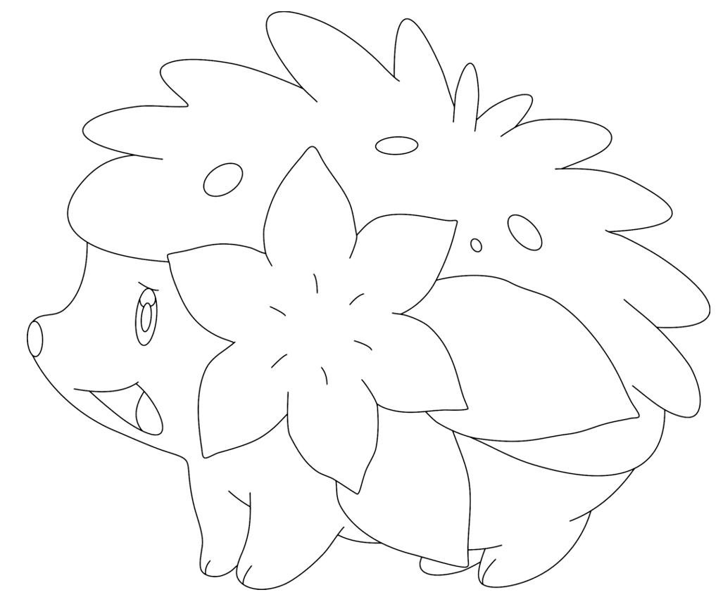 Hình ảnh pokemon cho bé tô màu