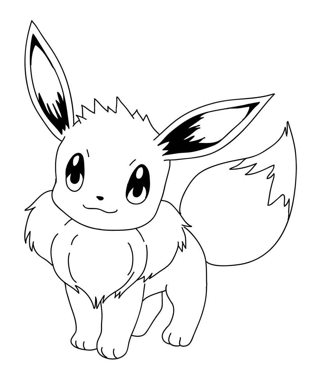 Hình ảnh tô màu pokemon