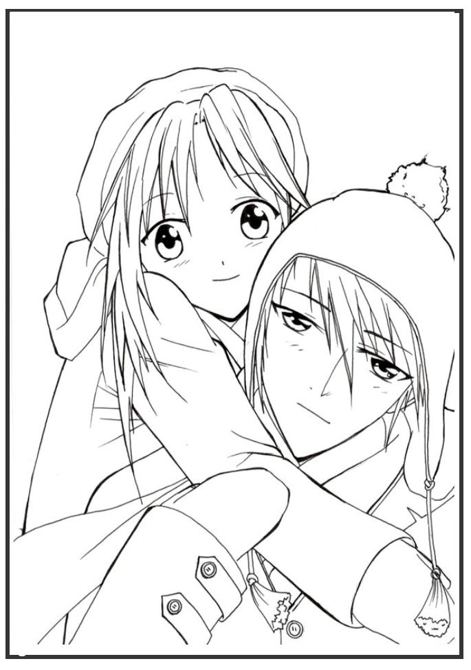 Hình anime đẹp cho bé