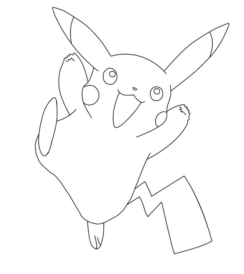 Hình pokemon cho bé tô màu