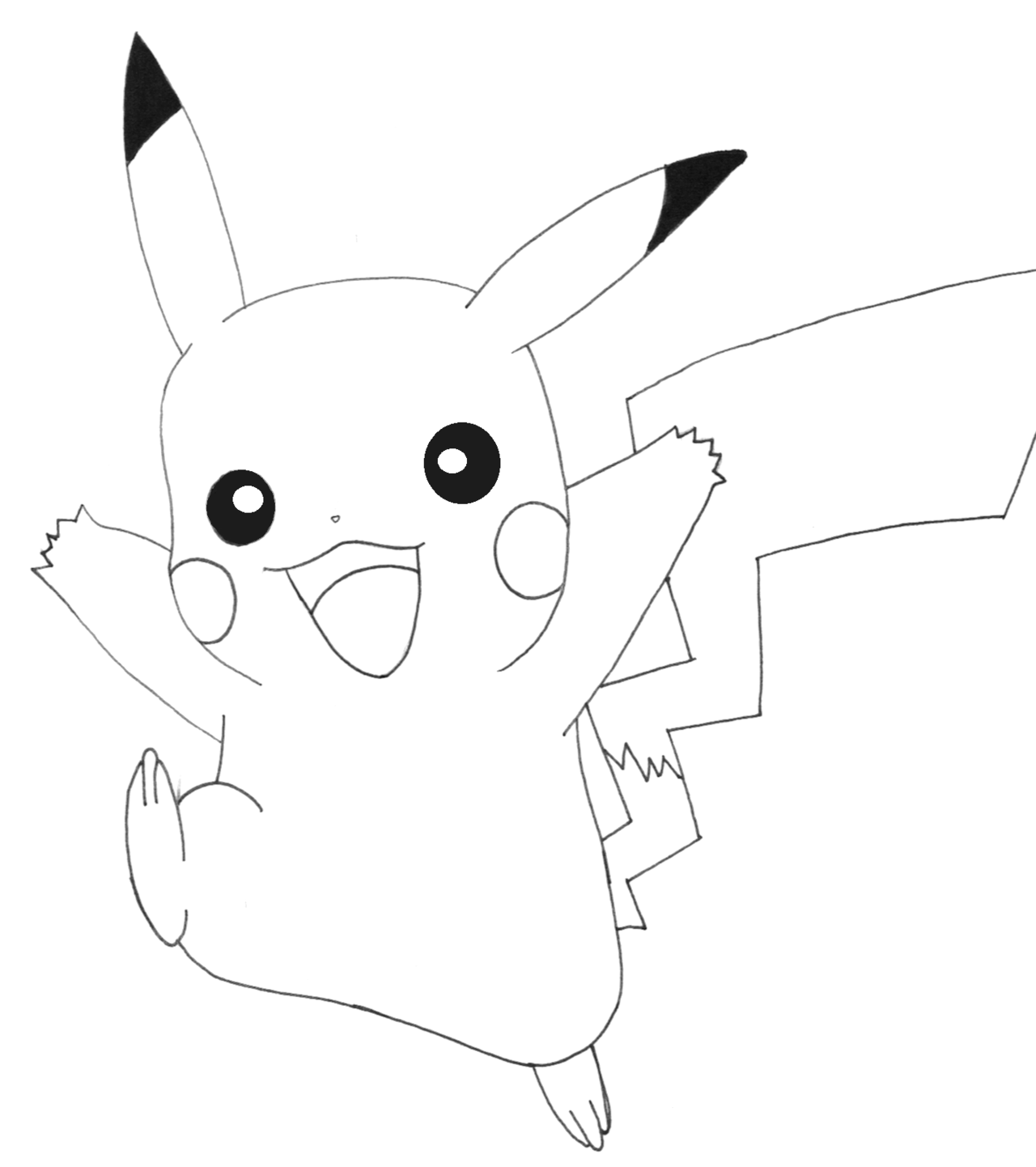 Hình pokemon tô màu