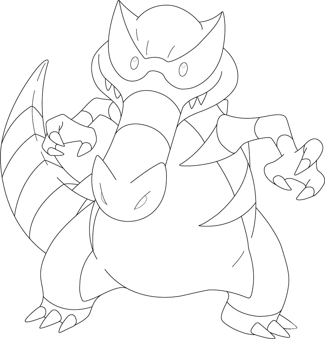 Hình tập tô màu pokemon cho bé