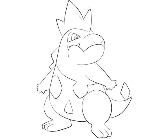 Hình tô màu cho bé về pokemon