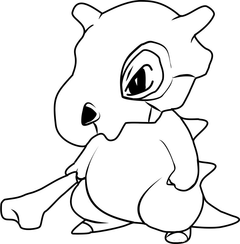 Hình tô màu pokemon