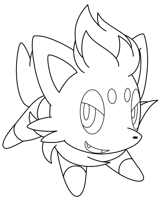 Pokemon tô màu