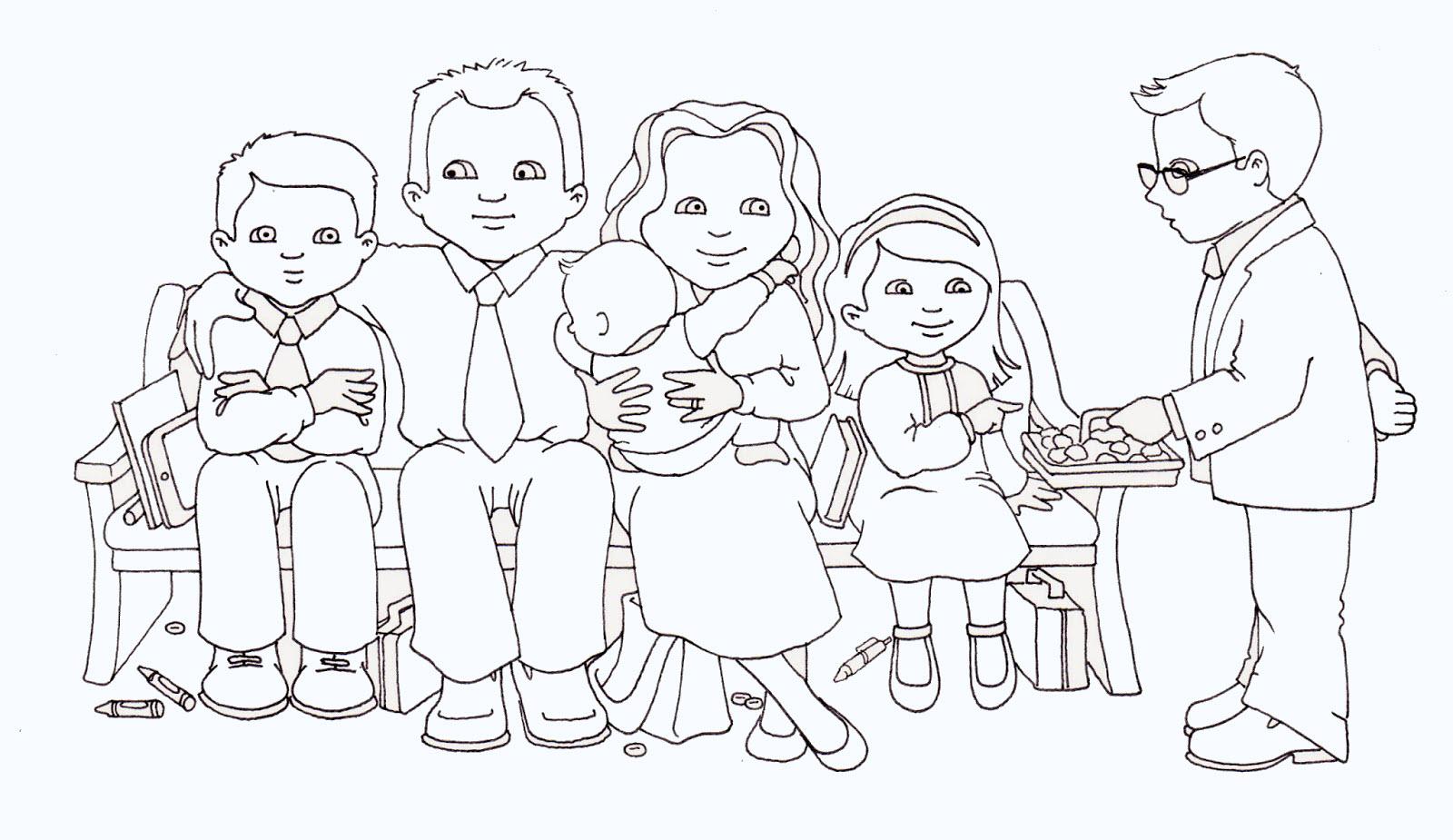 Tập tô màu gia đình