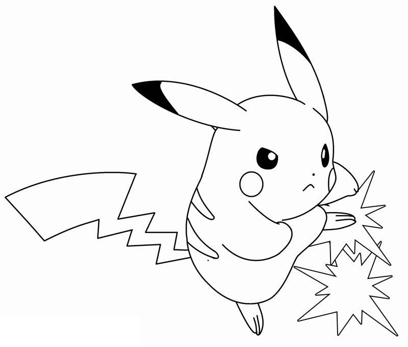 Tô màu pokemon cho bé