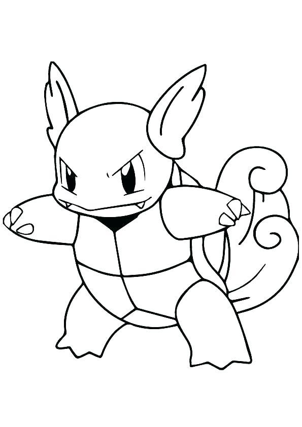 Tranh pokemon cho bé tập tô
