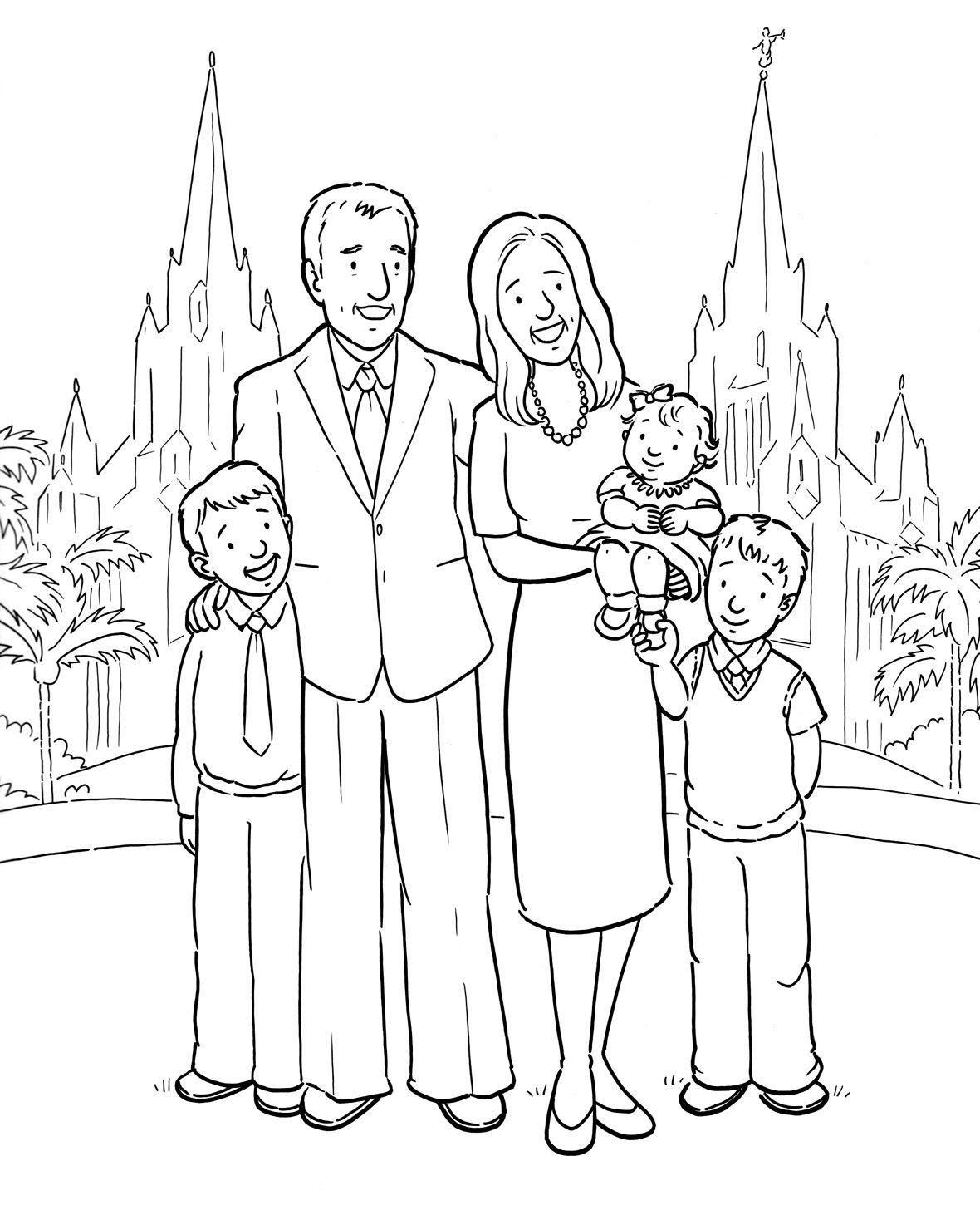 Tranh tập tô gia đình