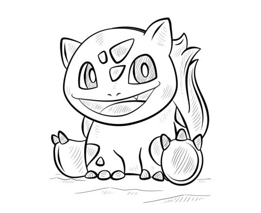 Tranh tập tô pokemon cho bé