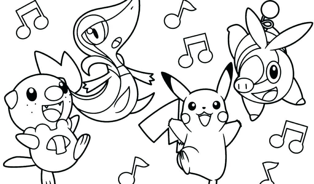 Tranh tô màu pokemon huyền thoại