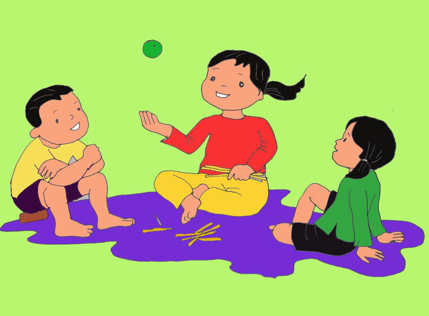 Vẽ tranh trò chơi dân gian cho học sinh