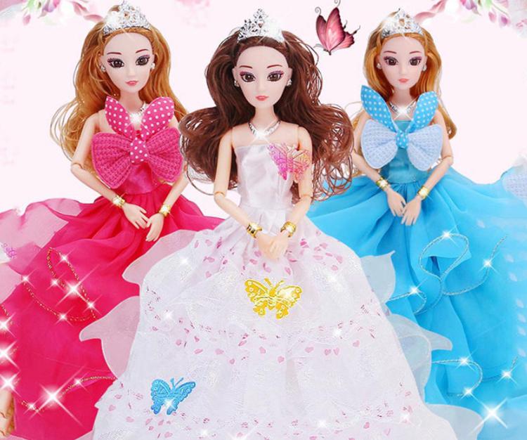 Đồ chơi trẻ em búp bê Barbies công chúa siêu xinh