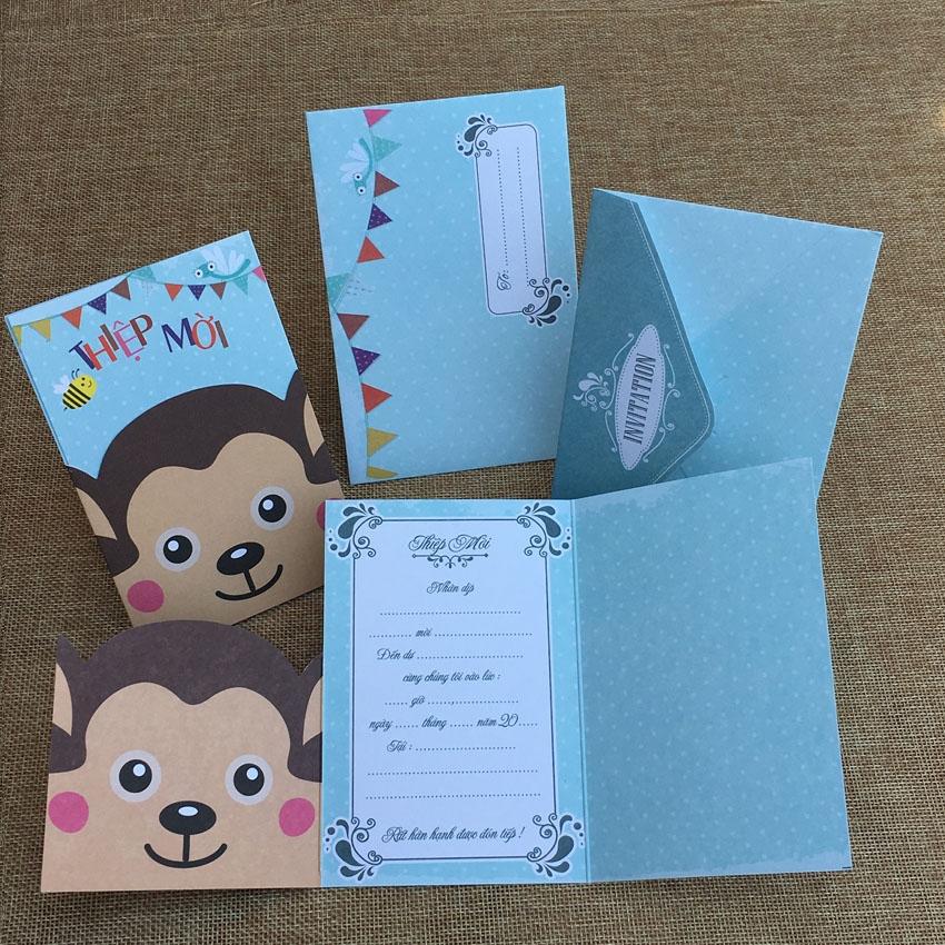 Hình ảnh các tấm thiệp mời sinh nhật đẹp