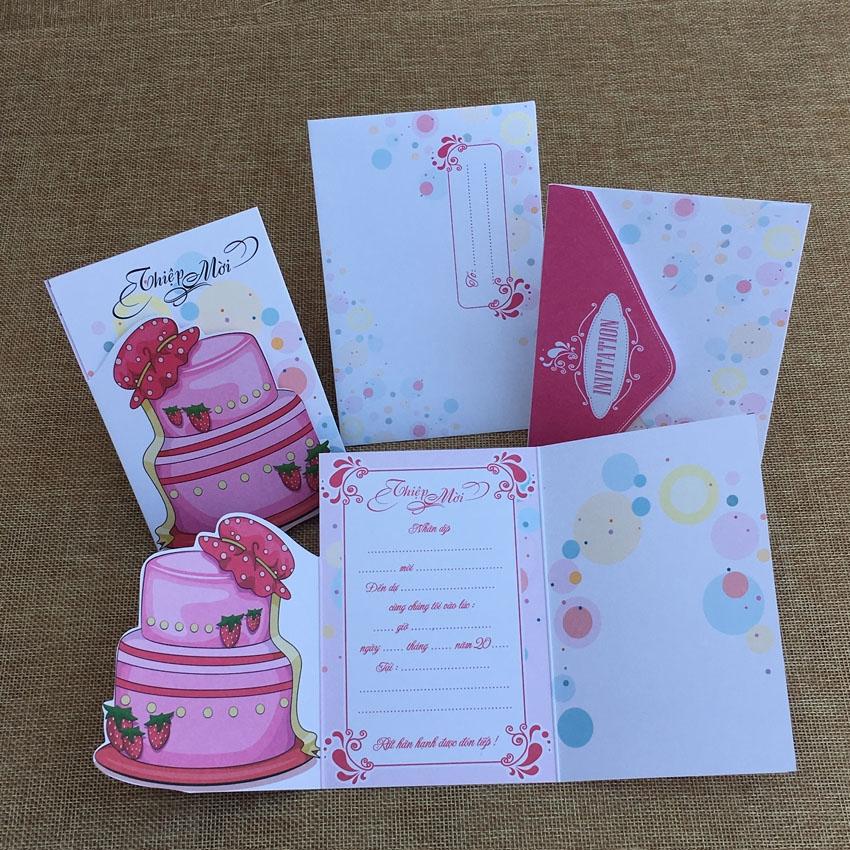 Hình ảnh các tấm thiệp mời sinh nhật