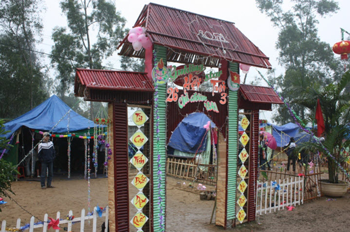 Hình ảnh mẫu cổng trại đẹp nhất