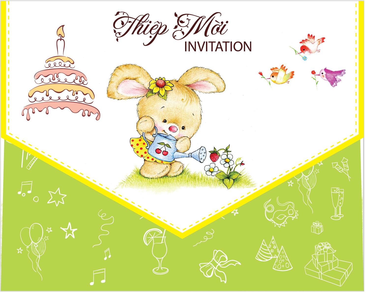 Hình ảnh thiệp mời mới nhất