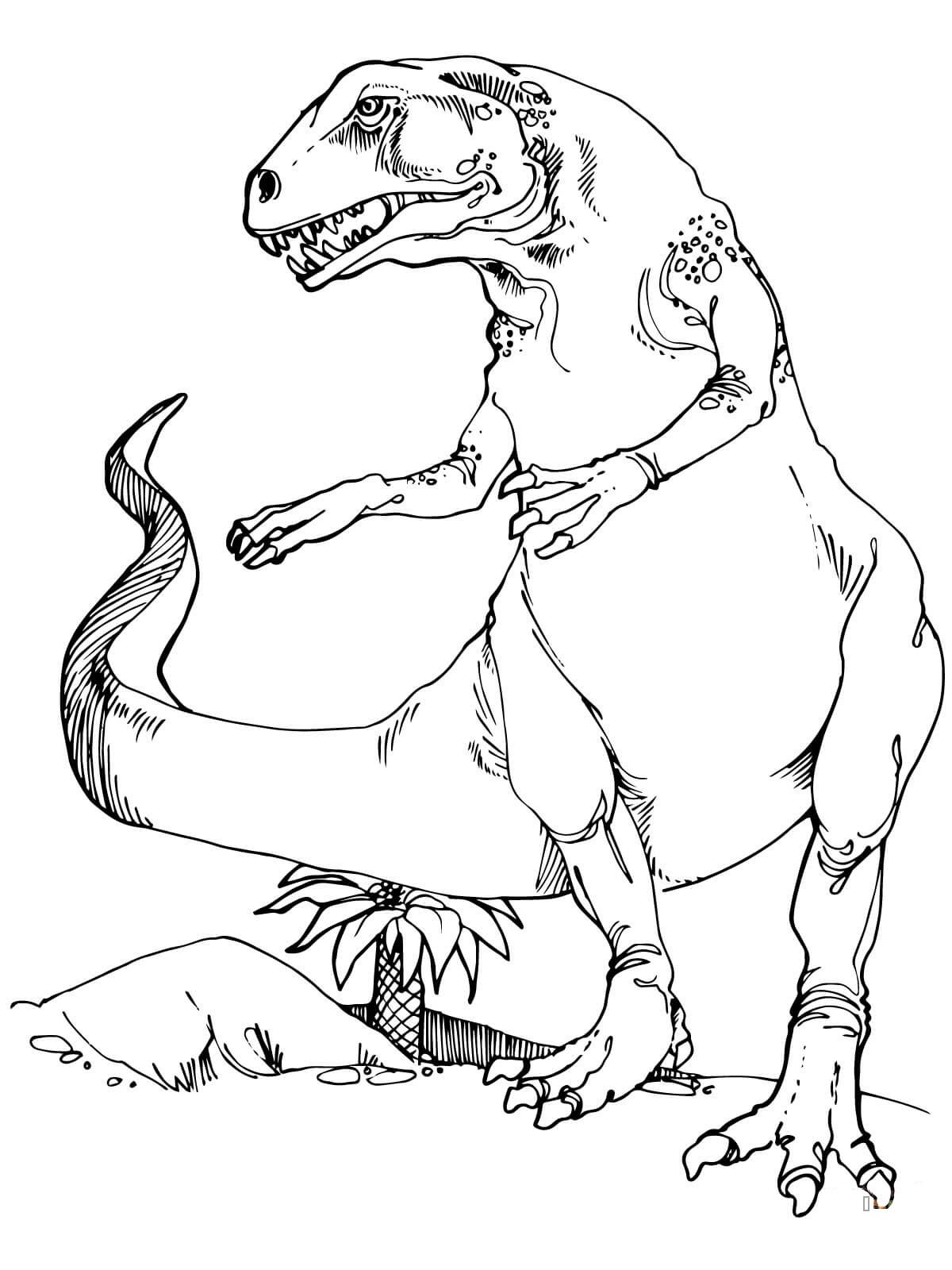 Hình khủng long bạo chúa