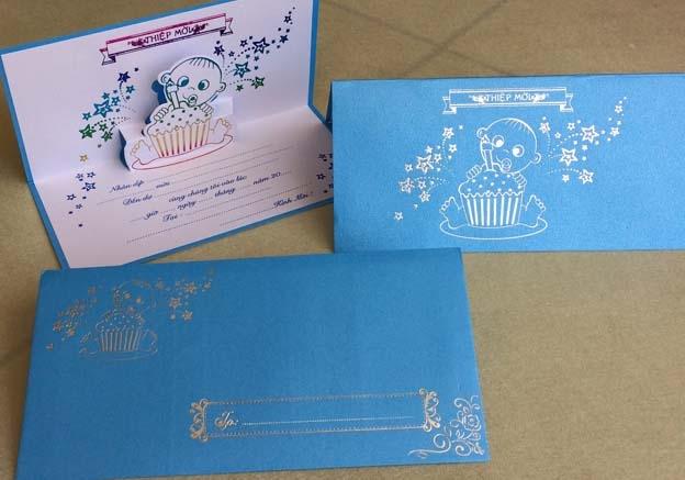 Hình mẫu thiệp mời sinh nhật đẹp và lạ