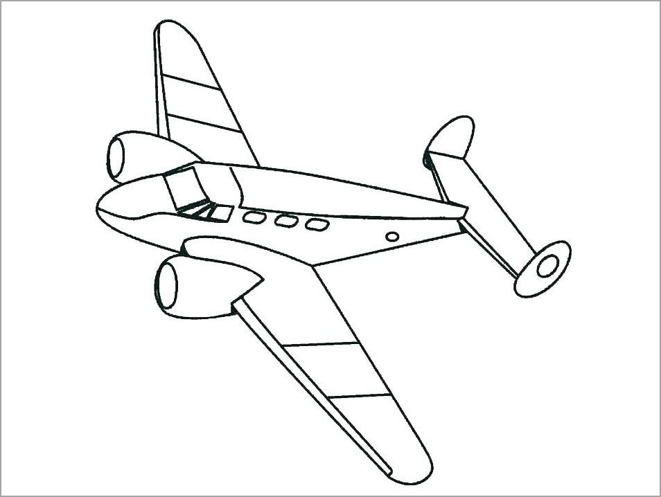 Hình máy bay cho bé