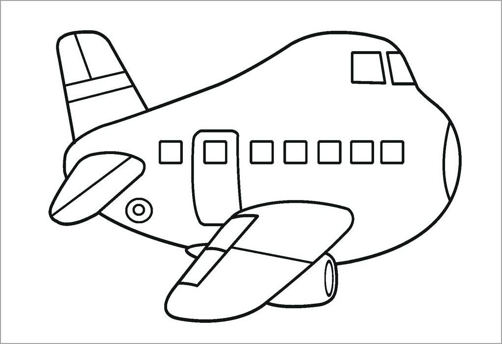 Hình máy bay ngộ nghĩnh
