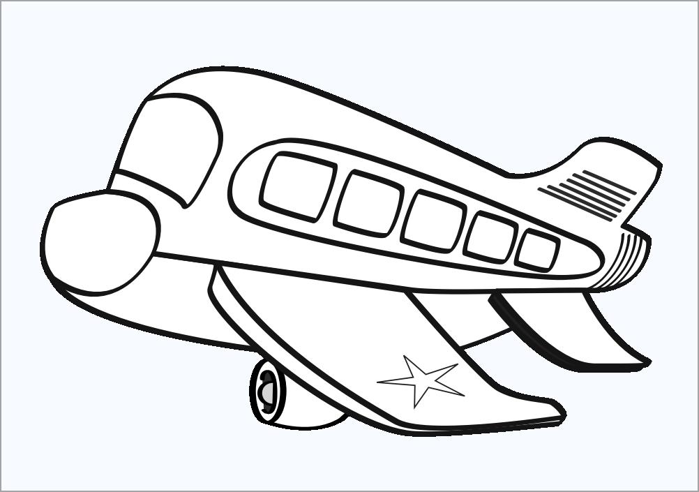 Hình tập tô chủ đề máy bay