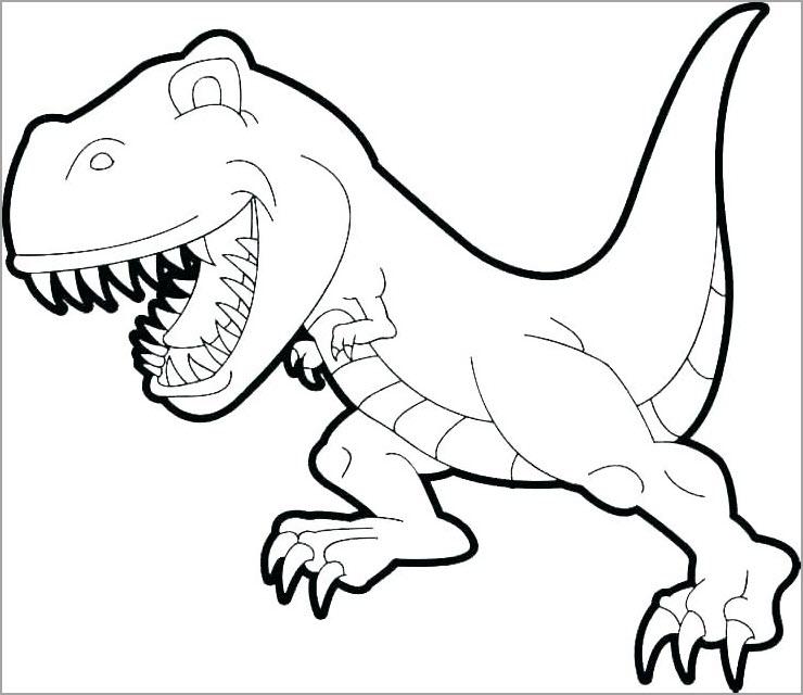 Hình tập tô khủng long đẹp