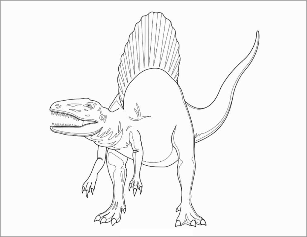 Hình tập tô khủng long to lớn