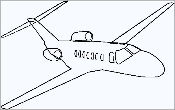 Hình tập tô màu máy bay
