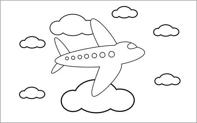 Hình tập tô máy bay đẹp