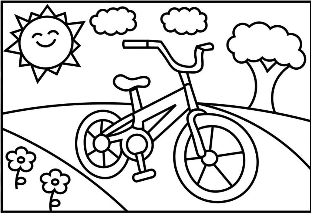 Hình tập tô xe đạp