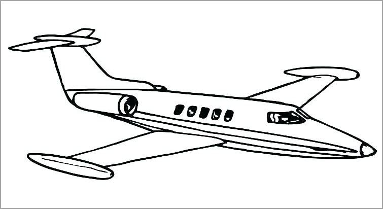 Hình tô màu chủ đề máy bay