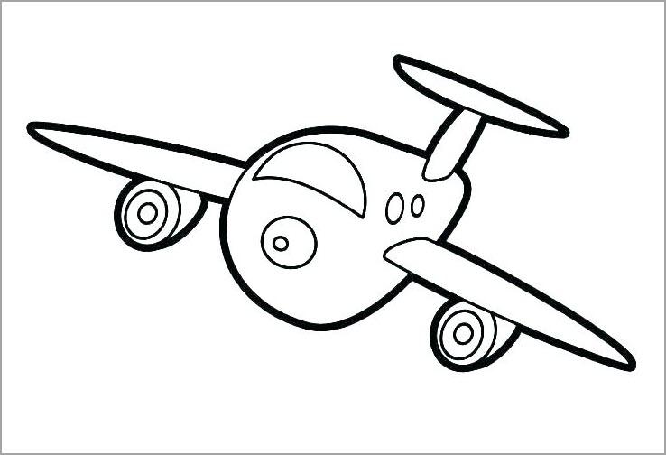 Máy bay cho bé tập tô