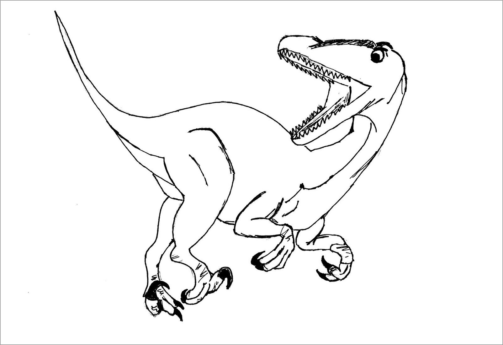 Tập tô con khủng long