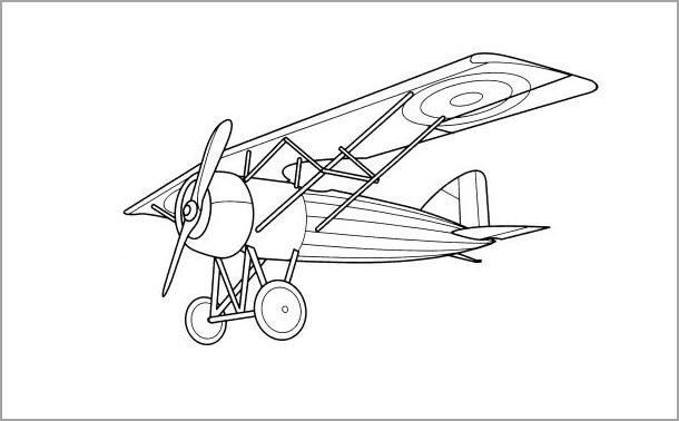 Tập tô hình máy bay