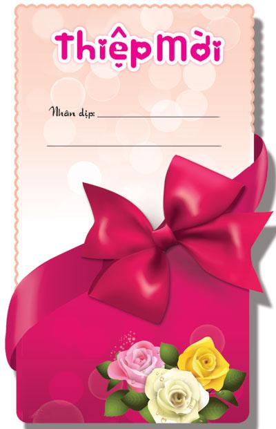 Thiệp mời sinh nhật đẹp và ấn tượng