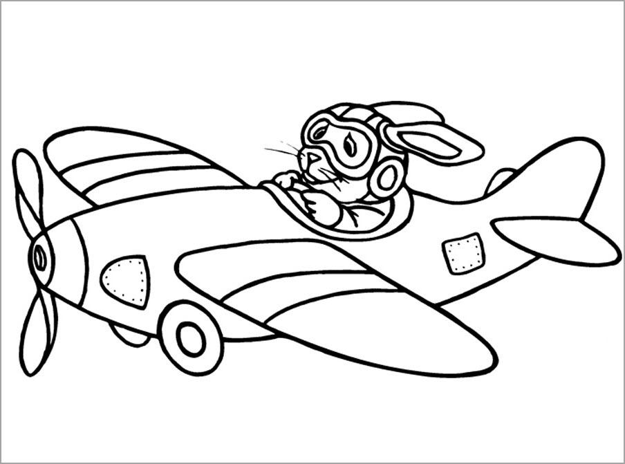Tô màu chủ đề máy bay