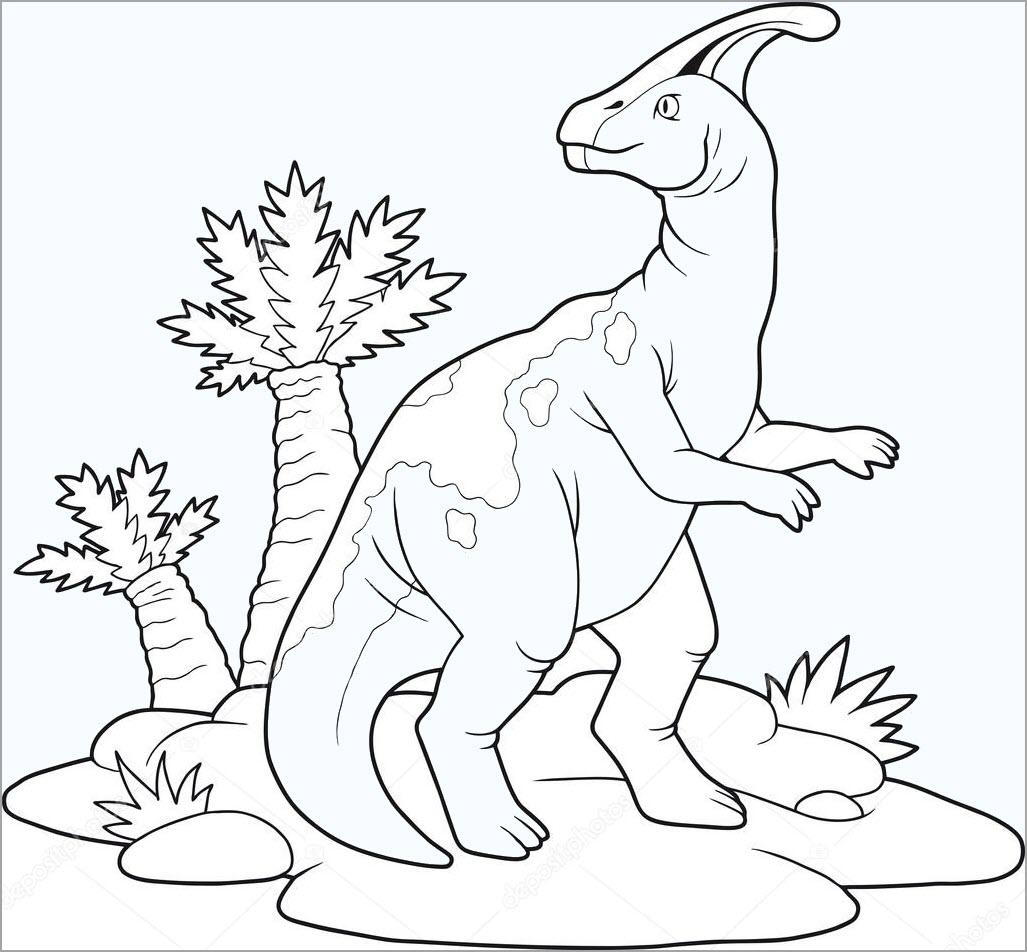 Tô màu con khủng long