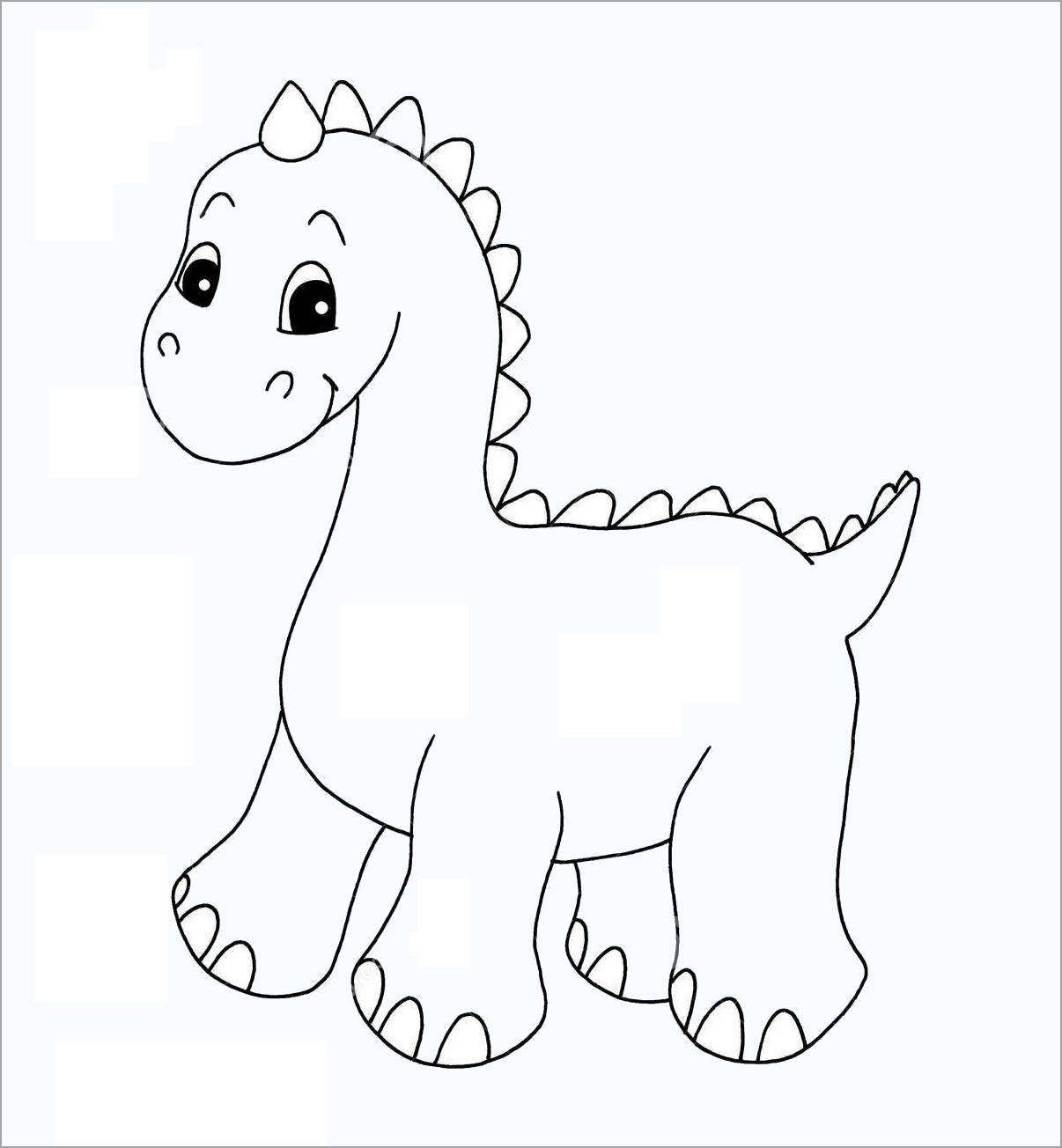 Tô màu khủng long đẹp
