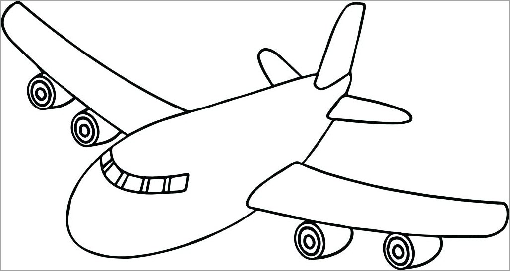 Tô màu tranh máy bay