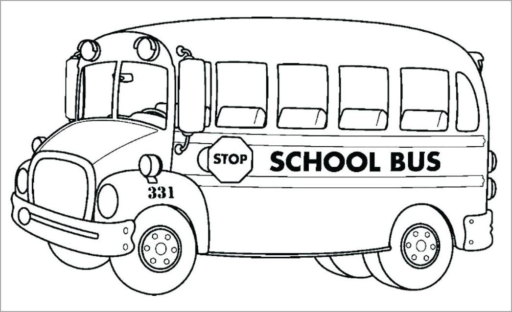 Tô màu xe bus