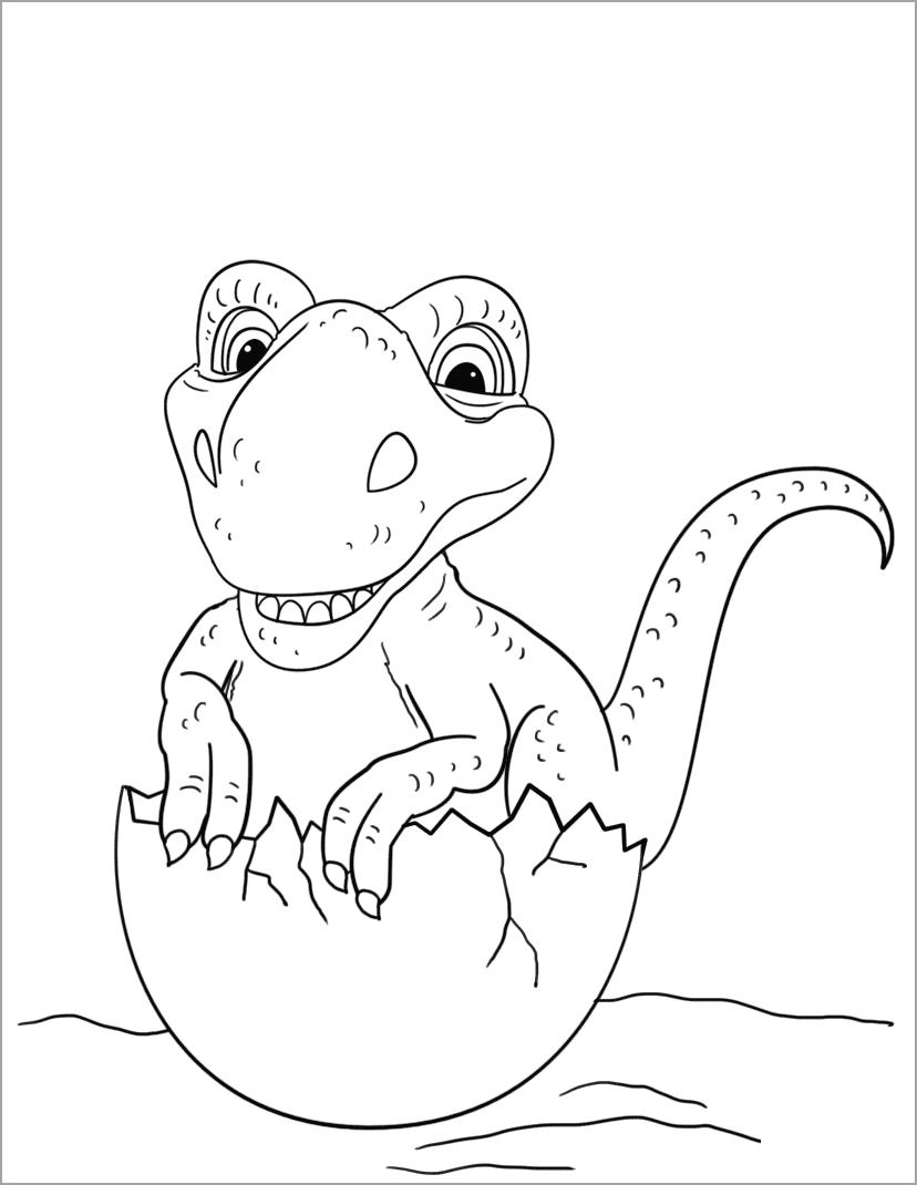 Tranh tập tô chủ đề khủng long