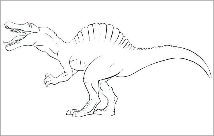 Tranh tập tô hình khủng long